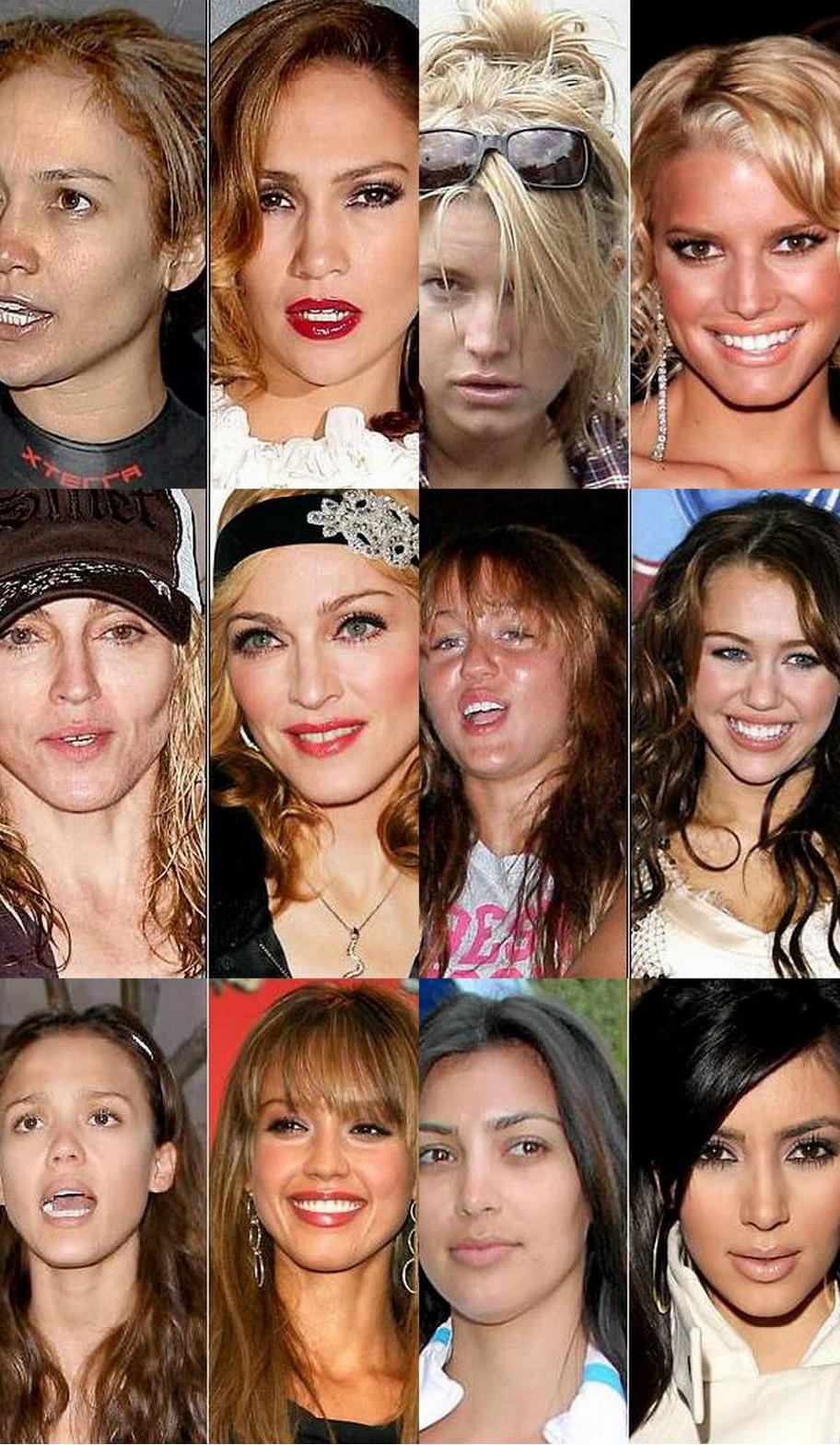 Before And After Celebrity Makeovers Makeup Mugeek